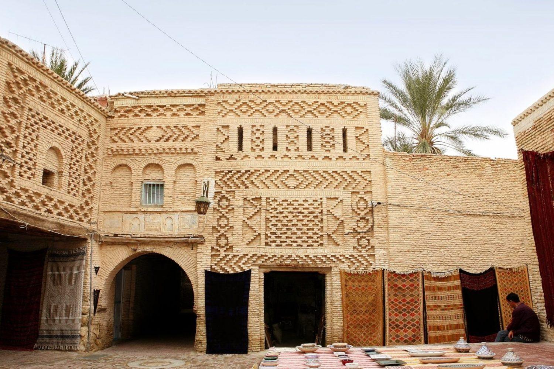 Tozeur oasis Tunisia