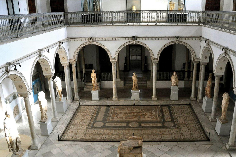Bardo museum mosaic Tunisia