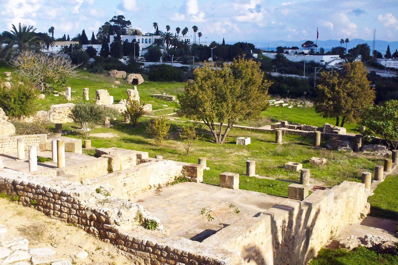 Carthage ruins Tunisia