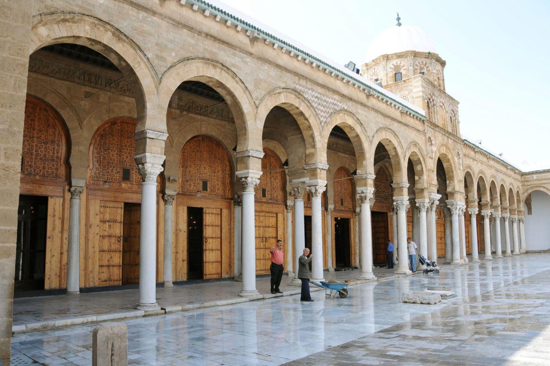 Zitouna mosque Medina Tunis