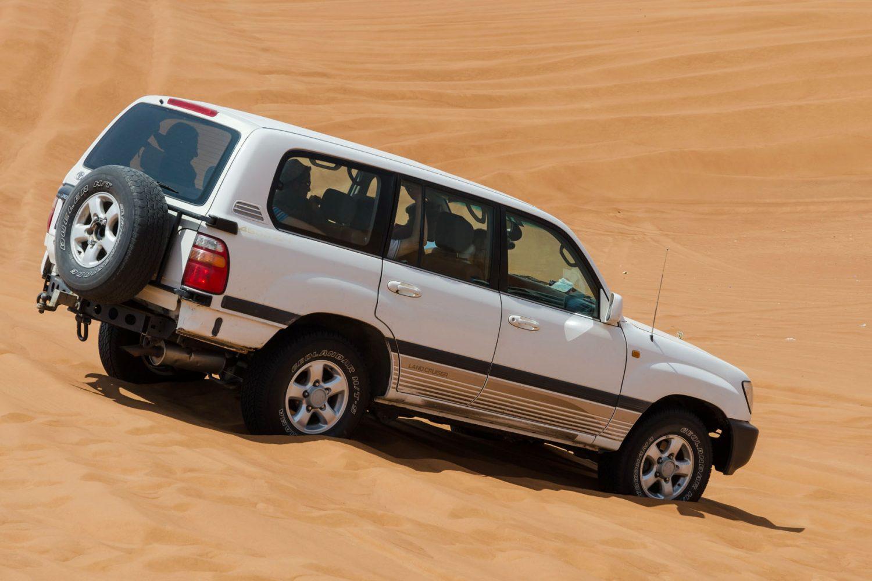 Sahara Desert Sunset with 4X4 Adrenaline Tour