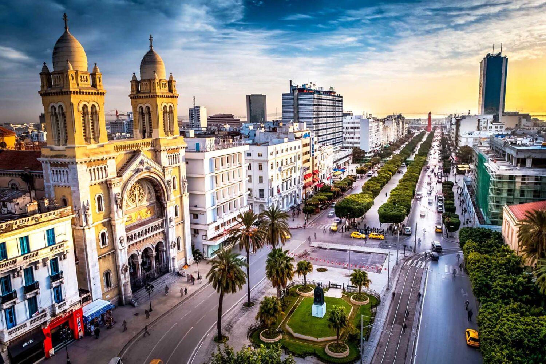 Tunis Avenue Bourguiba