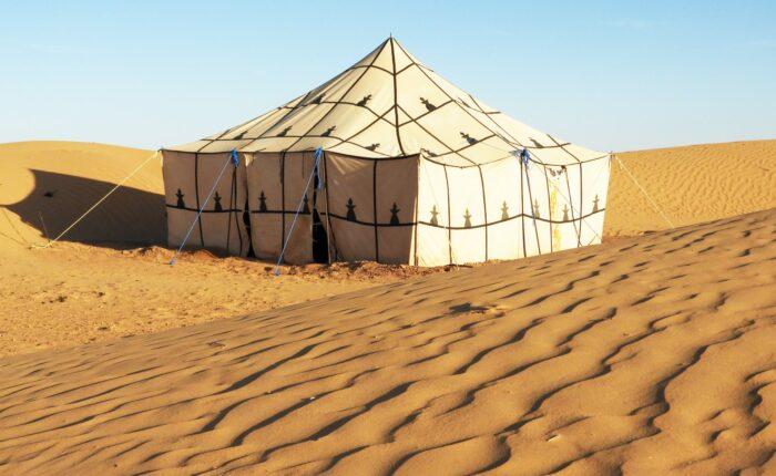 Bivoauc Sahara Desert Tunisie